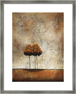 Trees 3 Framed Print by Jane Hunt