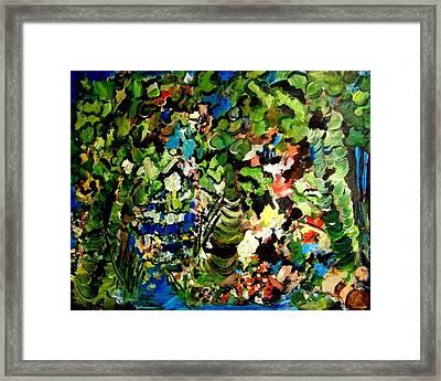 Trees Framed Print by Ellen Seymour