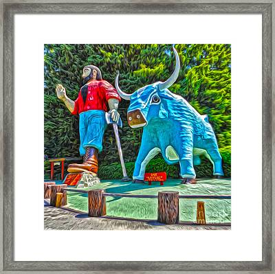 Trees Of Mystery Framed Print