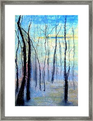 Treescape - Evening Framed Print