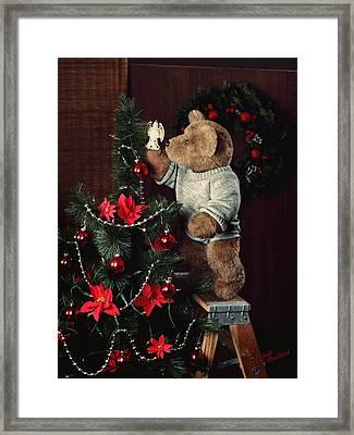 Treetop Angel Framed Print