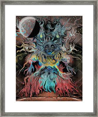 Treewoman Awakens Framed Print by Mimulux patricia no No