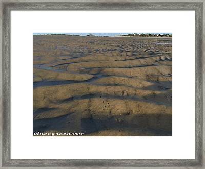 Trekking Alien Terrain Framed Print