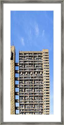 Trellick Tower, North Kensington, London Framed Print by Chay Bewley
