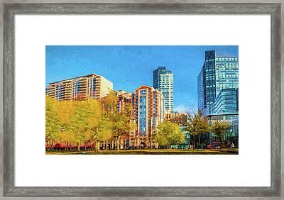 Tremont Street Framed Print