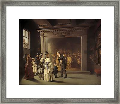 Treppenhuis  Framed Print by Mountain Dreams