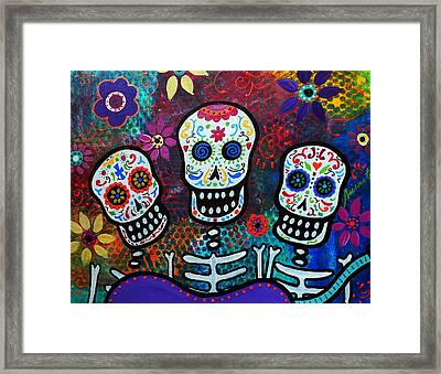 Tres Amigos Framed Print by Pristine Cartera Turkus