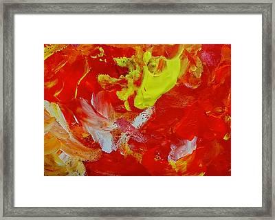 Tres Framed Print by Anna Villarreal Garbis