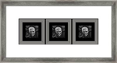 Tres Locos Framed Print
