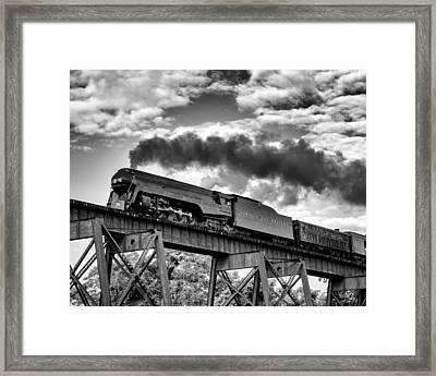 Trestle Crossing Framed Print