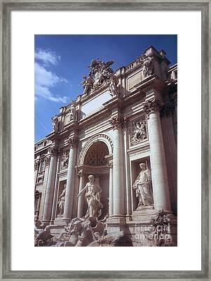 Trevi Fountain Framed Print by Fabrizio Ruggeri