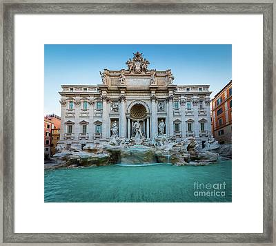 Trevi Fountain Framed Print by Inge Johnsson