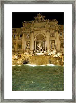 Trevi Fountain. Rome Framed Print by Bernard Jaubert