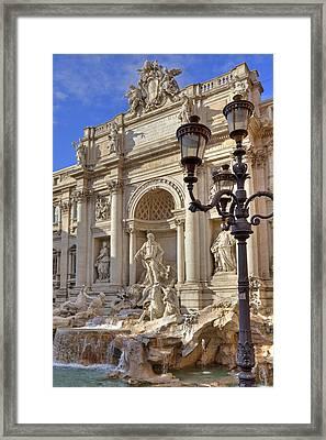 Trevi Fountain Rome Framed Print by Joana Kruse