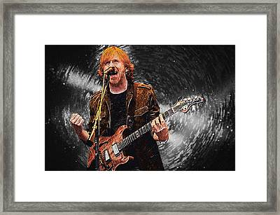 Trey Anastasio Framed Print by Taylan Apukovska