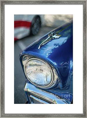 Tri-5 Chevrolet Classic Fender Framed Print by Mike Reid
