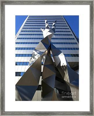 Triad 1 Framed Print