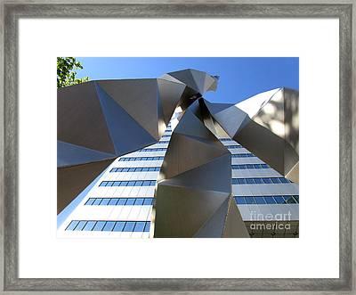 Triad 2 Framed Print