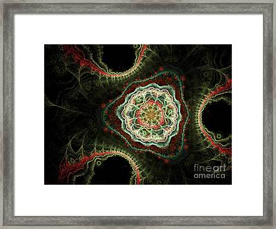 Triad Framed Print by Sandra Hoefer