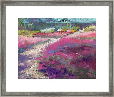 Trial Gardens In Fort Collins Framed Print