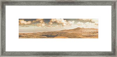 Trial Harbour Landscape Panorama Framed Print by Jorgo Photography - Wall Art Gallery