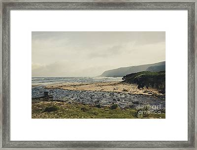 Trial Harbour Framed Print