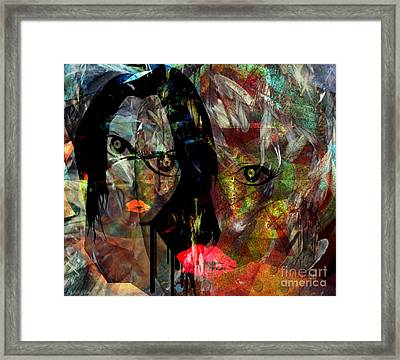Trials - Lessons Of The Believers Framed Print by Fania Simon