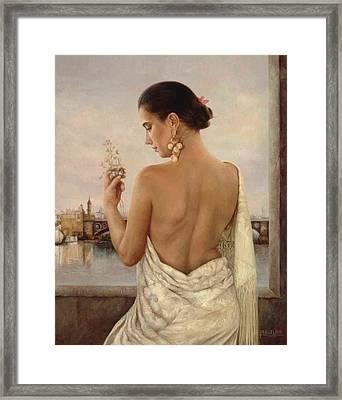Triana  1992 Framed Print by Maria Jose  Aguilar Gutierrez