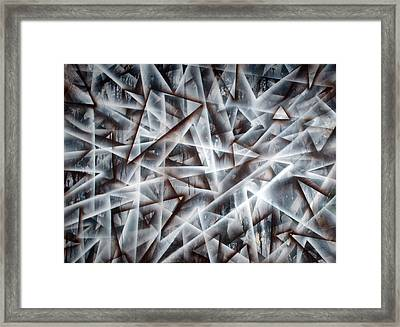 Triangle 2 Framed Print by Leigh Odom