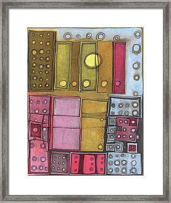 Geometric I Framed Print