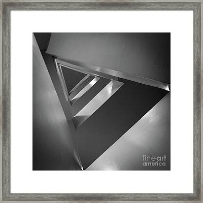Triangular Framed Print