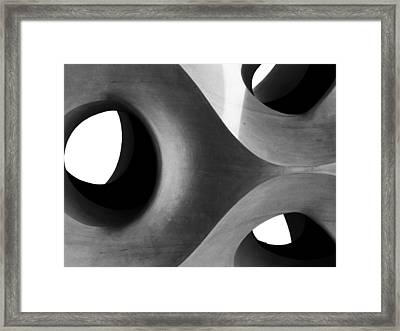 Triarchy Framed Print by Alan Todd