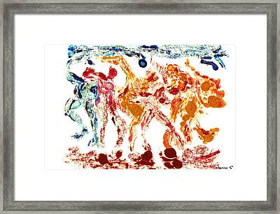 Tribal Dance Framed Print by M Images Fine Art Photography and Artwork