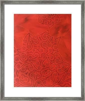 Tribal Dreams Framed Print by Sophia Elise