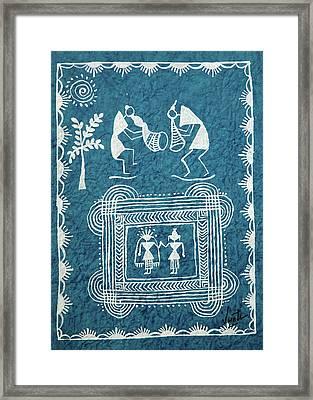 Tribal Gods Framed Print by Swati Sharma