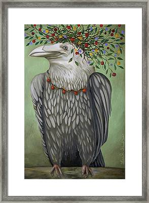 Tribal Nature Framed Print by Leah Saulnier The Painting Maniac