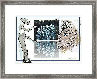 Tribalism Framed Print