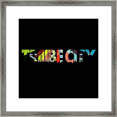 Tribe Lives Framed Print by Chief Hachibi