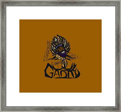 Tribe Of Gad Framed Print