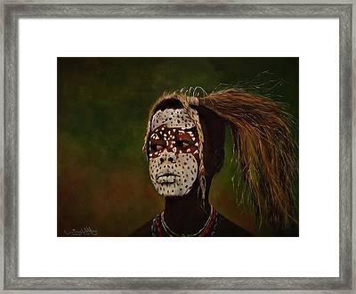 Tribesman  Framed Print