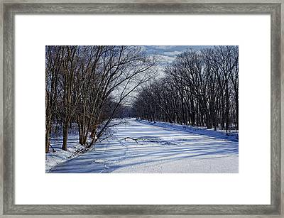 Framed Print featuring the photograph Tributary by John Gilbert