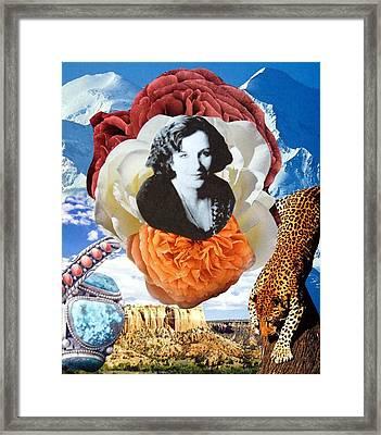 Tribute - Clarissa Pinkola Estes Framed Print