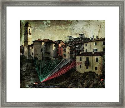 Tribute To Italy Framed Print