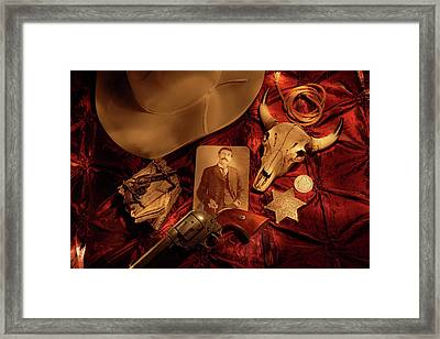 Tribute To Pat Framed Print by Daniel Alcocer