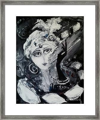 fabulous Pola Negri Framed Print