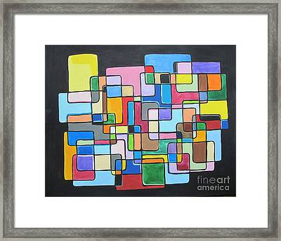 Tribute To Toottie Framed Print by Tracy Kincaid