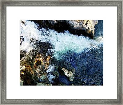 Tribute Trail Newtown Ditch Framed Print