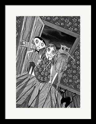 Fancy Drawings Framed Prints