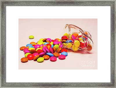 Trick Or Treat Halloween Sweets Framed Print by Jorgo Photography - Wall Art Gallery