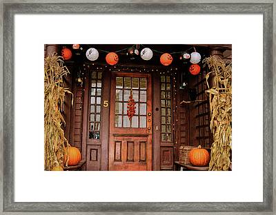 Trick Or Treat   Framed Print by JAMART Photography
